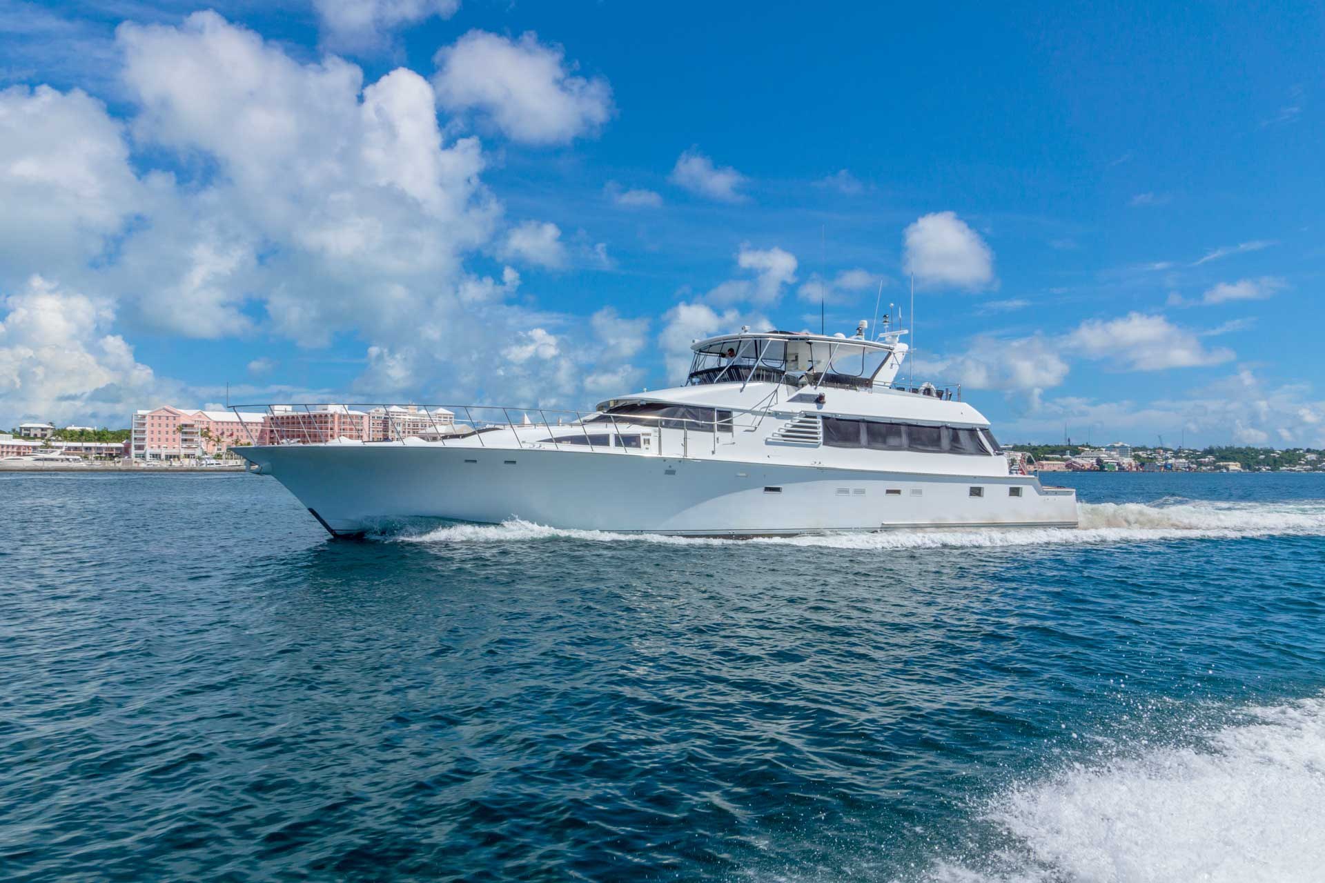Photo of Lady Charlotte cruising in Hamilton Harbour, Bermuda